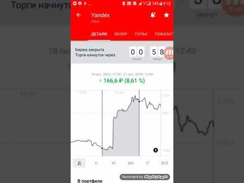 Акции Яндекса растут. Продолжение истории с Yandex.