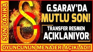 Galatasaraylı Herkes Bu Videoyu İzliyor! I Menajeri Resmen Açıkladı...