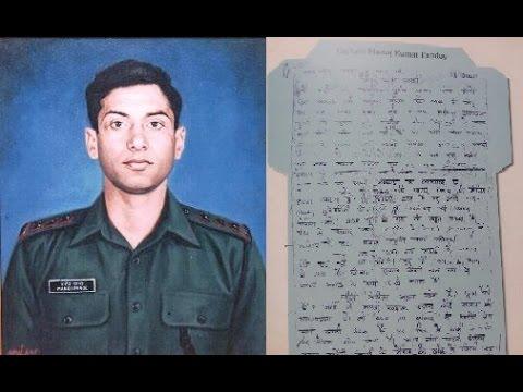 LoC se Last Letters- Captain Manoj Kumar...