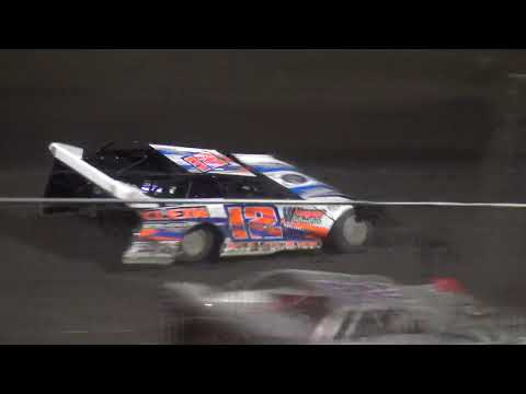 IMCA Late Model feature Benton County Speedway 7/15/18