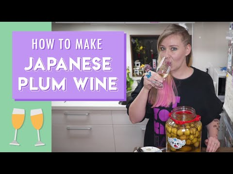 How to Make Japanese Plum Wine
