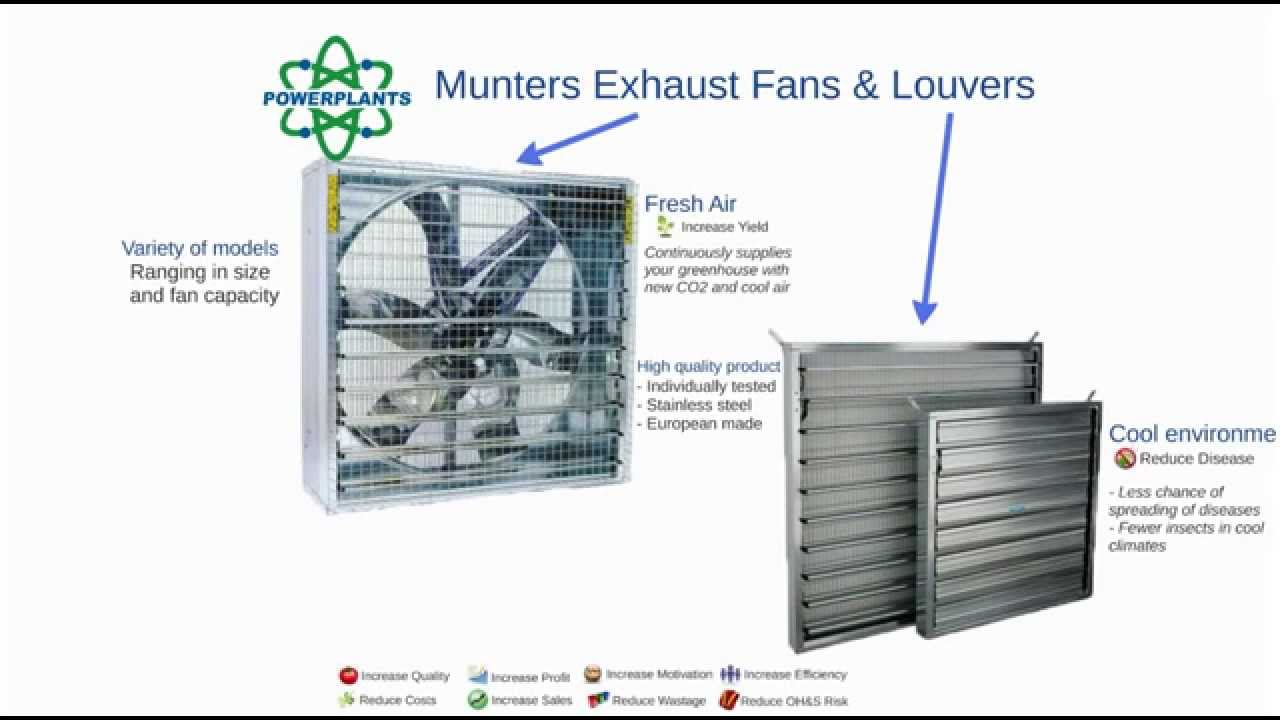 exhaust fans & louvers - youtube
