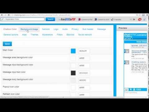 web development india - Create chat software