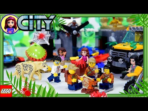 LEGO City Jungle Exploration Site Build the Vehicles Review Silly Play - Kids Toys