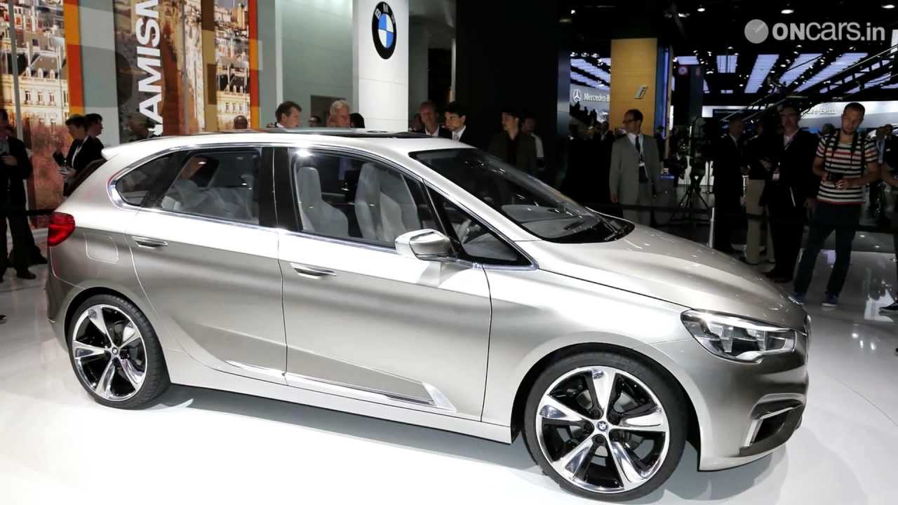 BMW Active Tourer Concept revealed - 2012 Paris Motor Show - YouTube