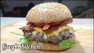 How To Cook an Egg in a Hole Burger