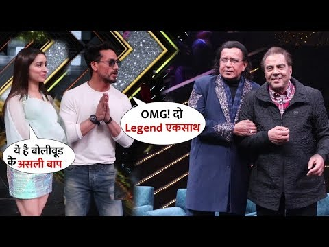 Dharmendra & Mithun Da Surprise Entry At Dance Plus Set With Shraddha-Tiger | Legend Together