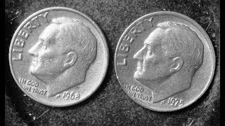 """1968 and 1975 Proof Dimes With No 'S"""" Have Sold For $8,000- $300,000+"""