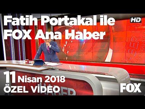 Dolar ve Euro yine rekor kırdı... 11 Nisan 2018 Fatih Portakal ile FOX Ana Haber