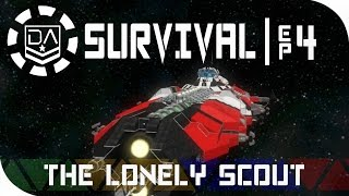 Space Engineers Survival | Ep4 - The Lone Scout