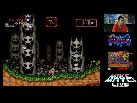 Super Ghouls n Ghosts pro ATTEMPT - Mike Matei Live