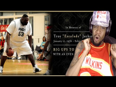 R.I.P TO THE BEST FAT PLAYER EVER!! ESCALADE JACKSON AND 1 REACTION! REST IN PEACE BRO!