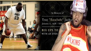 vuclip R.I.P TO THE BEST FAT PLAYER EVER!! ESCALADE JACKSON AND 1 REACTION! REST IN PEACE BRO!