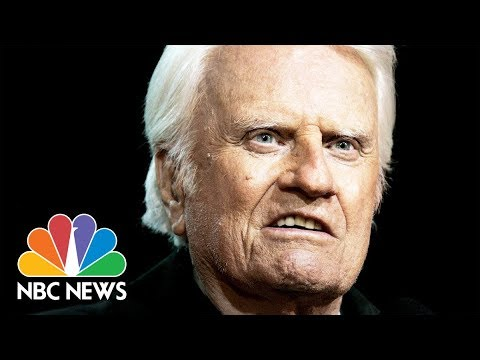 President Donald Trump Honors Billy Graham As Body Lies In State At U.S. Capitol | NBC News