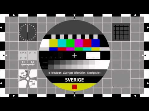 Sveriges Television High-definition Test Pattern
