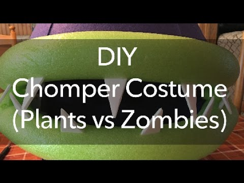 DIY Chomper Costume (Plants vs Zombies)