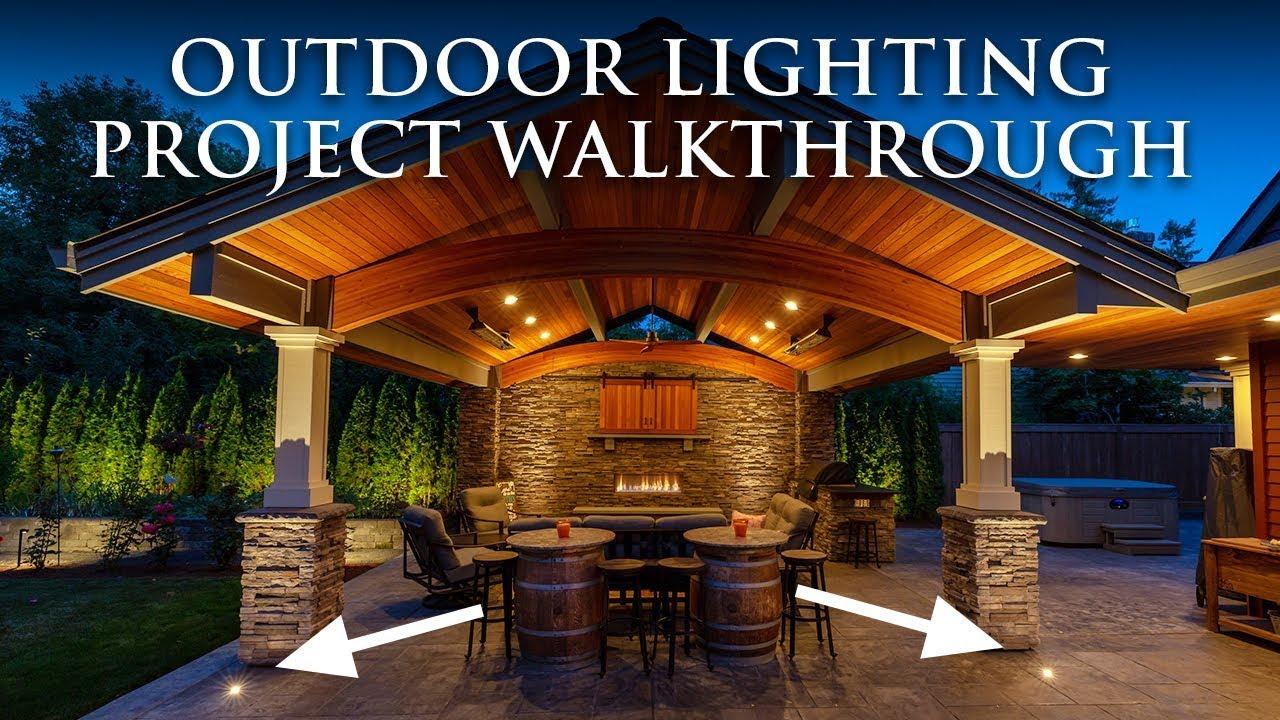 Portland Outdoor Pavilion Lighting Oregon