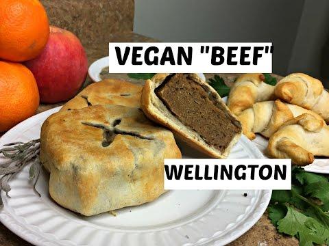 "VEGAN ""BEEF"" WELLINGTON + CREAMY GRAVY (collab with Jazzmin Kaita!)"