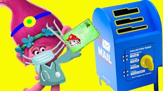 Dreamworks Trolls World Tour DIY Play-Doh Mailbox #withme