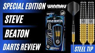 Steve Beaton Special Edition 90/% Tungsten Steel Tip Darts by Winmau