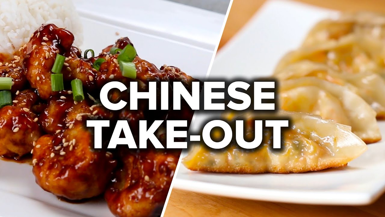 6 Vegetarian Chinese Take Out Style Dinners Youtube