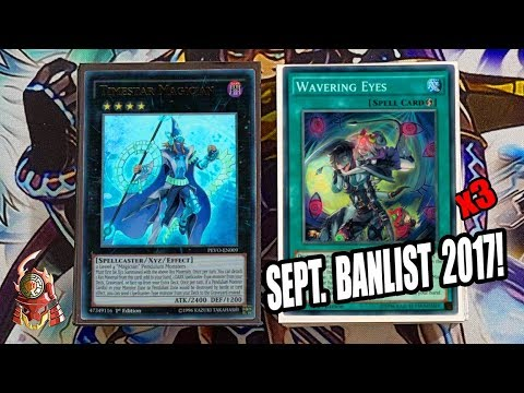 *YUGIOH* BEST! PENDULUM MAGICIAN DECK PROFILE! SEPTEMBER 18TH, 2017 BANLIST! 3X WAVERING EYES (GABE)