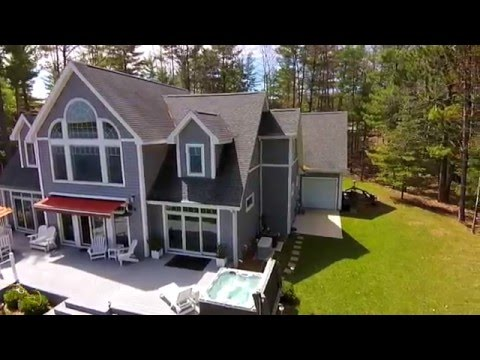 Waterfront estate on all-sports lake in Traverse City, Michigan