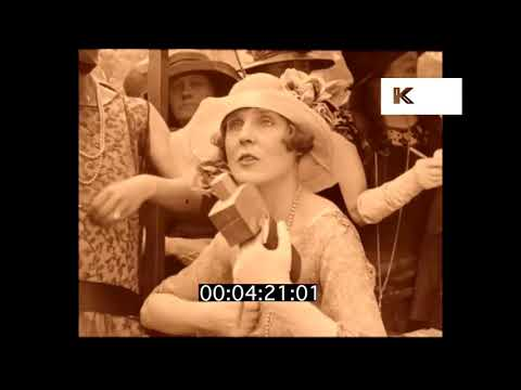 1920s Garden Party, Shirley Kellogg and Lady Diana Cooper, HD