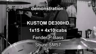 kUSTOM DE300HD Demonstration
