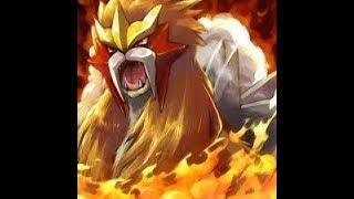 ENTEI RAID!!!!!!!!POKEMON GO