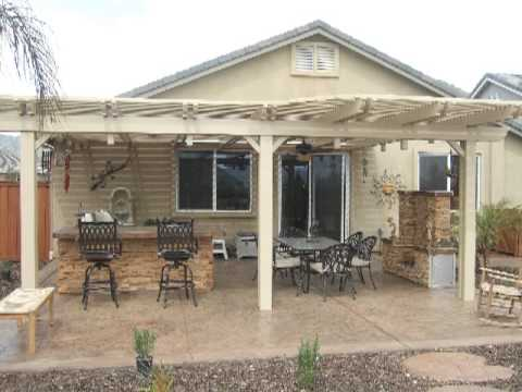 Patio Covers Reviews - Styles Ideas and Designs - YouTube on Patio Cover Ideas Images id=27941