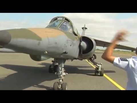 Escuadron de Mirage F1 AZ de la SAAF durante la guerra de Angola
