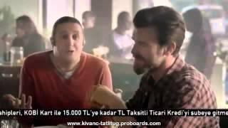 Kıvanç Tatlıtuğ & İlker Ayrık in AKBANK Commercial 8