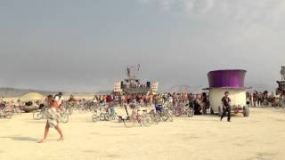 Burning Man 2013 - Robot Heart - Andy Caldwell in heaven