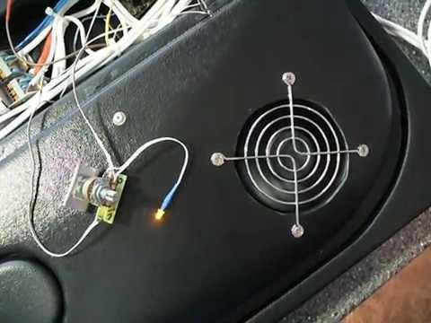 вентилятора на LM317