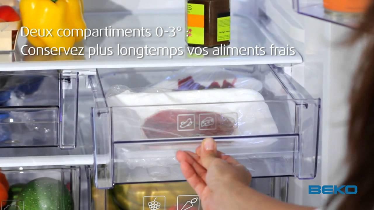 Réfrigérateur Combiné No Frost 70cm   YouTube