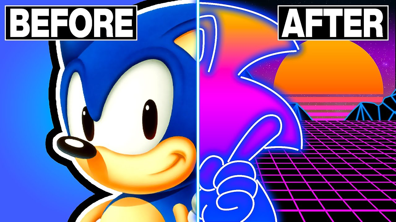 Sonic The Hedgehog Green Hill Zone Synthwave Cover Youtube