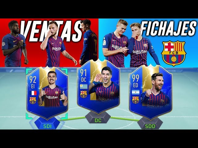 EL NUEVO FC BARCELONA 2020 (FICHAJES y VENTAS)