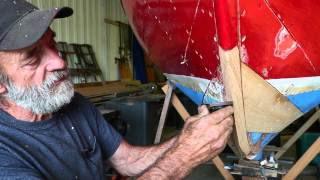 Part 10 - Planing The Forefoot And New Plank - Herreshoff 12 1/2