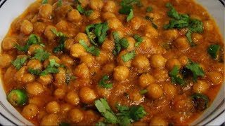 Easy Chana Masala Recipe - Tasty Chole Recipe by (Cook with Madeeha)