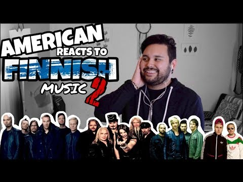 American REACTS // Finnish Music 2