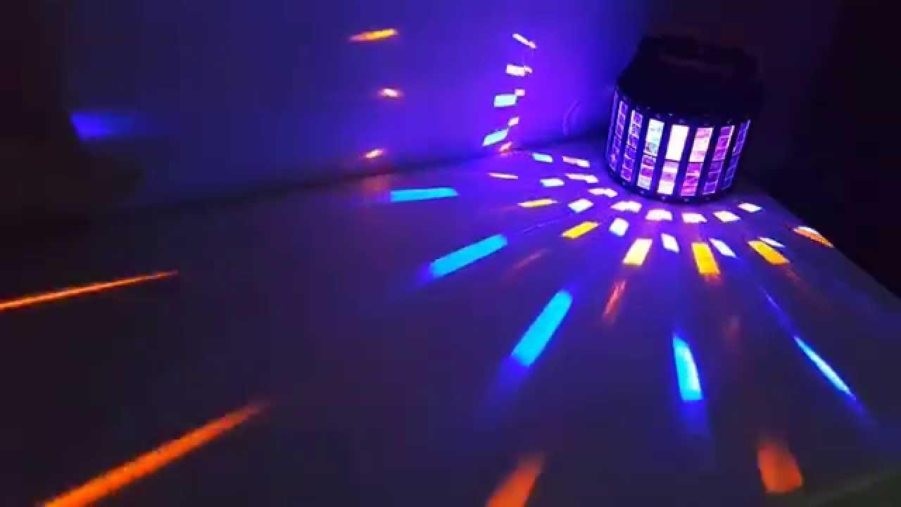 LED HN-655 조명기기 특수조명 무대조명 하나음향 (1) - YouTube