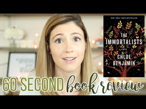 THE IMMORTALISTS BY CHLOE BENJAMIN // 60 SECOND BOOK REVIEW Mp3
