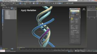 TurboSplines 3dsMax script: Editing & Animating Parameters