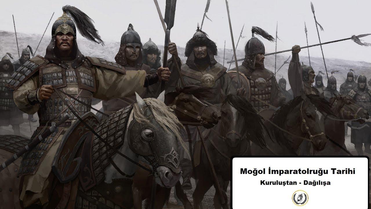 Moğol İmparatorluğu / Kuruluştan - Dağılışa / Harita Üstünde Anlatım