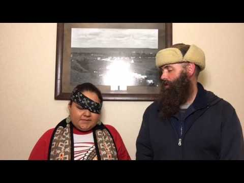 Water protector (Sioux Z) updates on condition of her eye