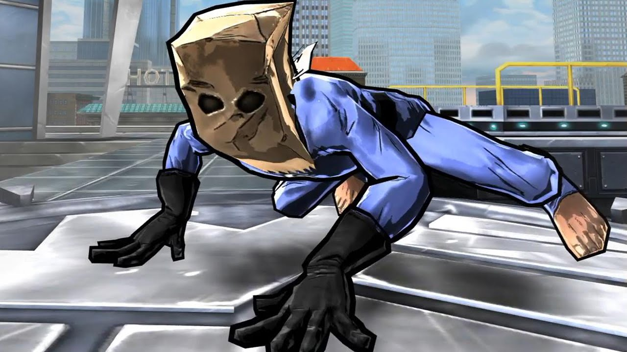 Spider-Man Unlimited: The Bombastic Bag-Man Suit - YouTube