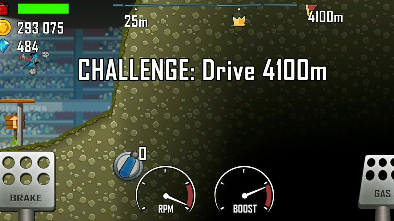 Hill climb game    arena daily challenge    hill climb    game play