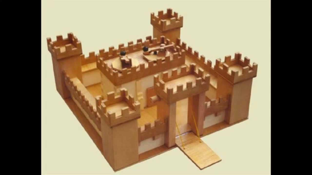 Simple Castle Minecraft Tutorial Youtube