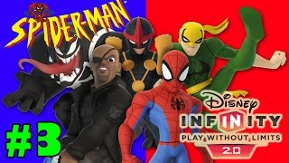 Disney Infinity 2.0 Spider Man Gameplay Walkthrough Part 3 Sweet And Sewer